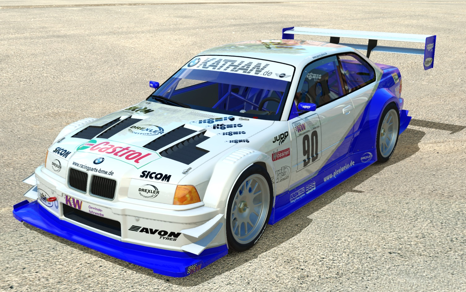 BMW E36 320 JUDD V8 Georg Plasa | RaceDepartment - Latest