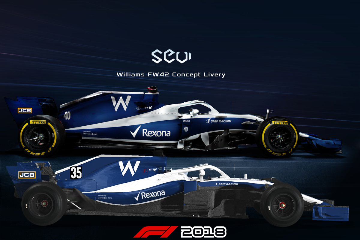 SeviGraphics Williams FW42 Fantasy Livery | RaceDepartment