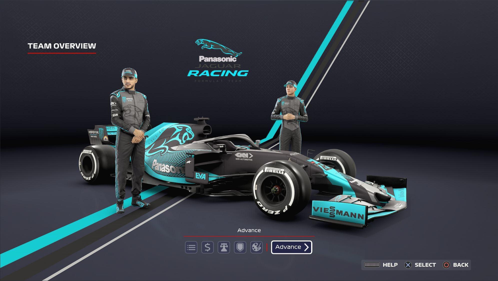 Jaguar Racing Formula 1 Team My Team Fantasy Livery Racedepartment