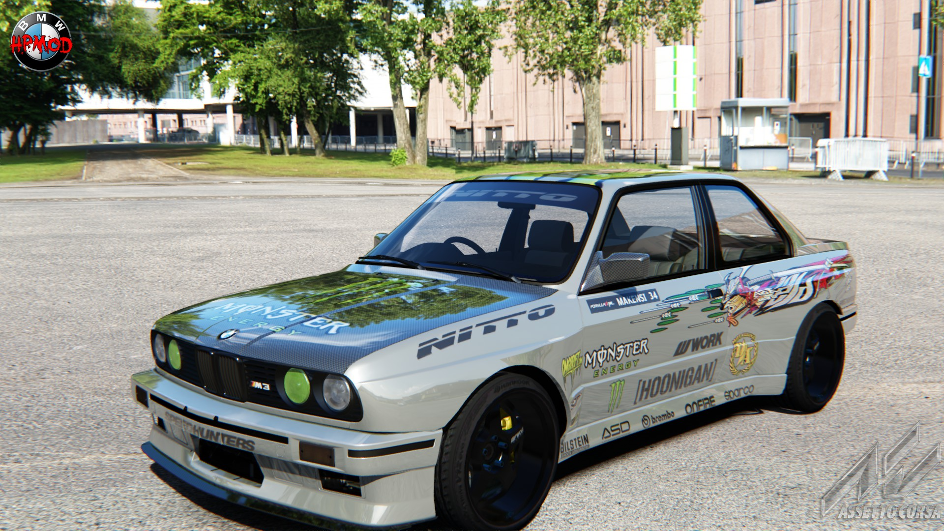 skin for the HP E30 WIDEBODY or AC m3 e30 drift ...