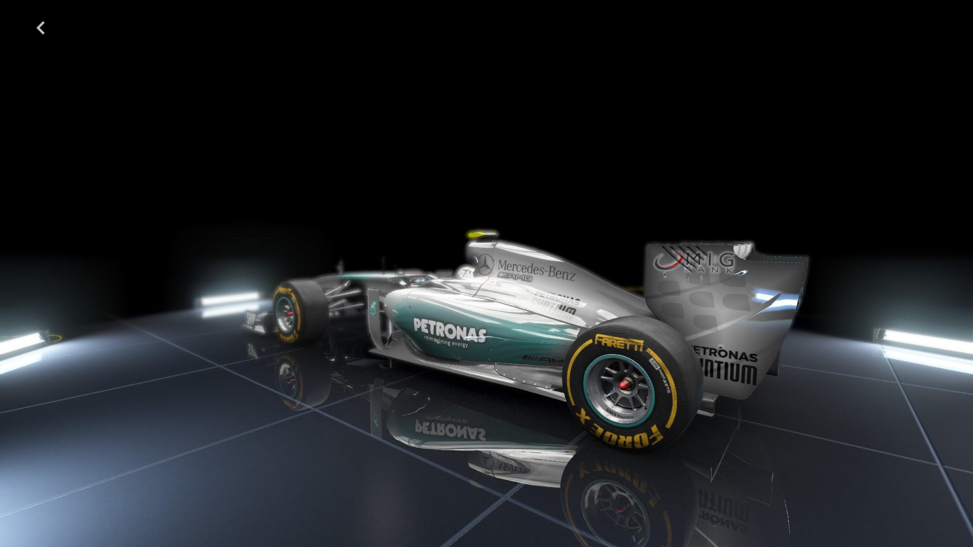 Formula a f1 mercedes benz petronas team racedepartment for Mercedes benz petronas