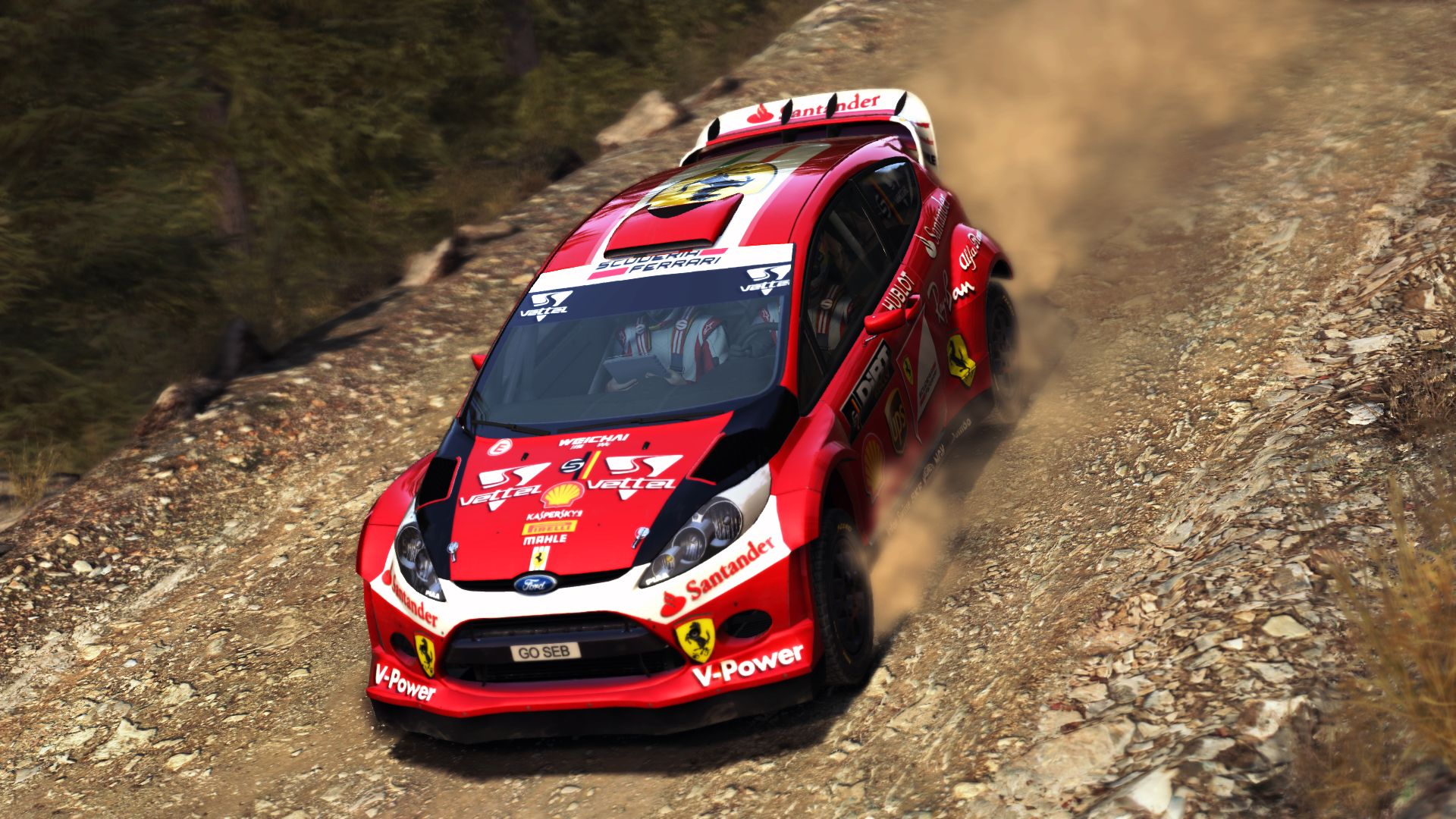 Fiesta Rs 2017 >> Scuderia Ferrari F1 2017 Fiesta WRC | RaceDepartment - Latest Formula 1, Motorsport, and Sim ...