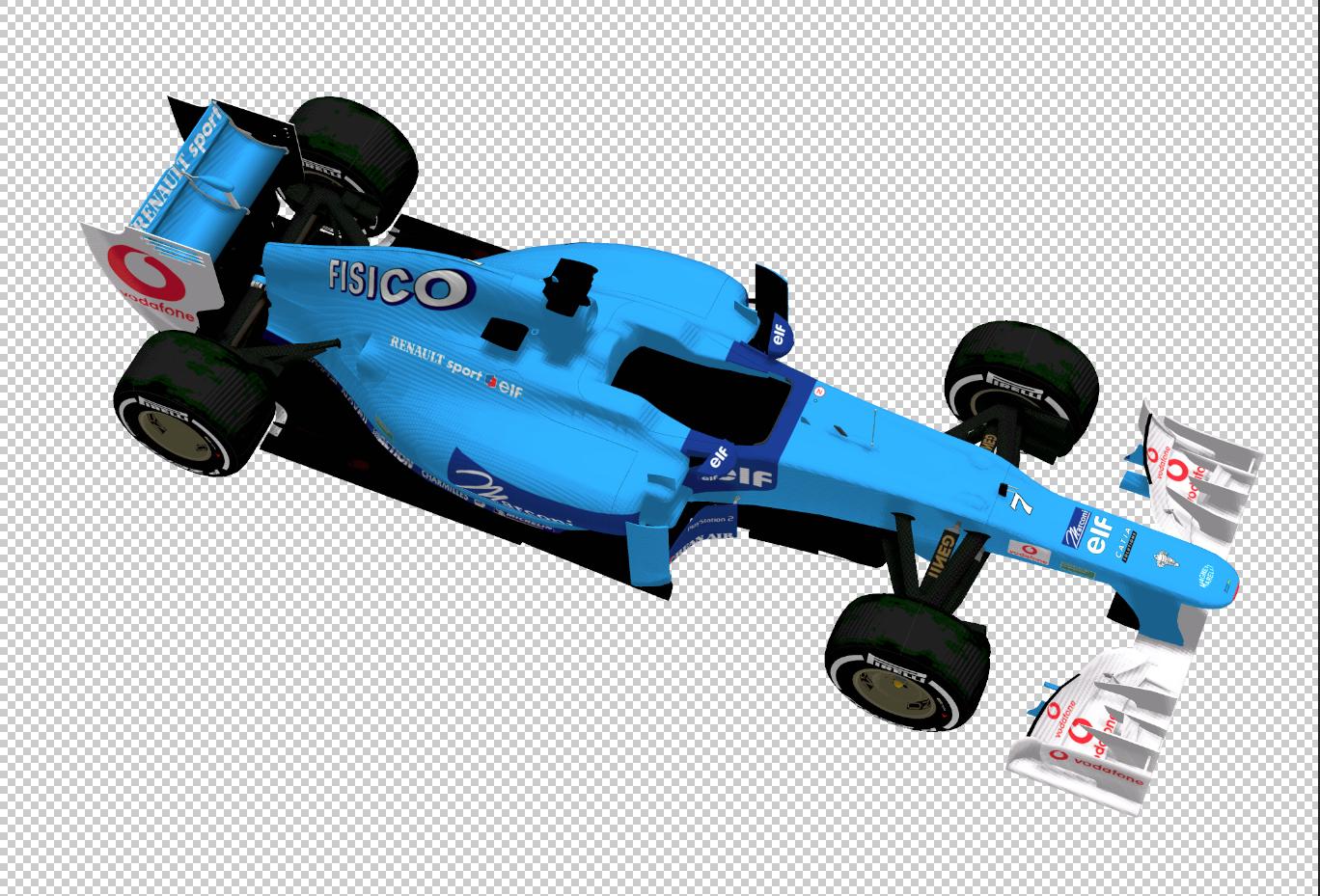 2001 Benetton Non-Tobacco (#7 FISICO).PNG