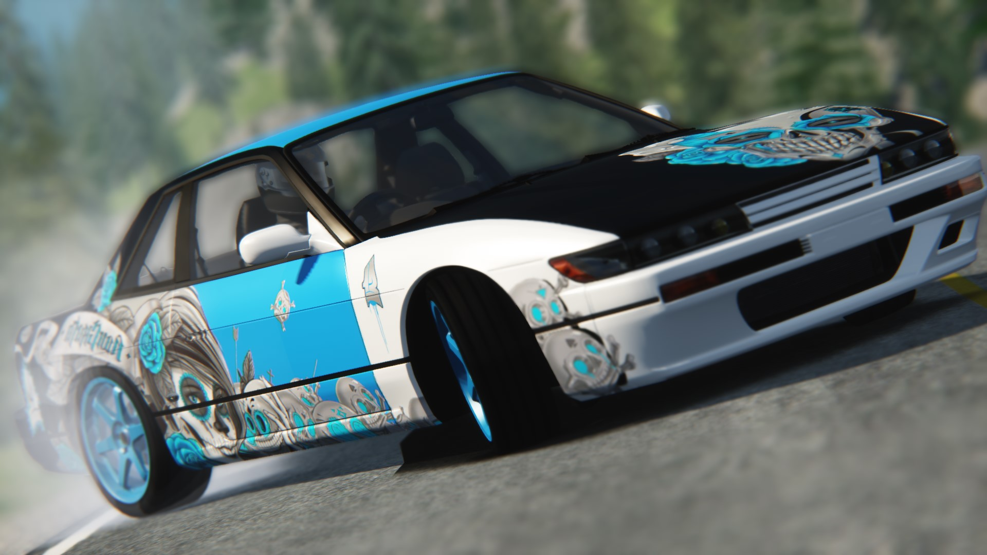 Nissan Silvia S13 Drift Nongrata Skin Racedepartment