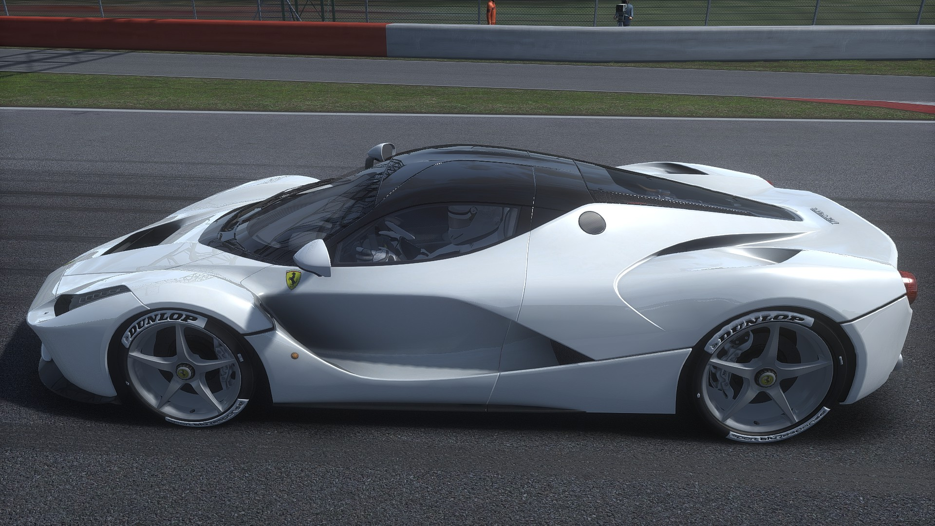ferrari laferrari white interior. now with matching white leather interior, rims, brake calipers, driver suit. ferrari laferrari interior
