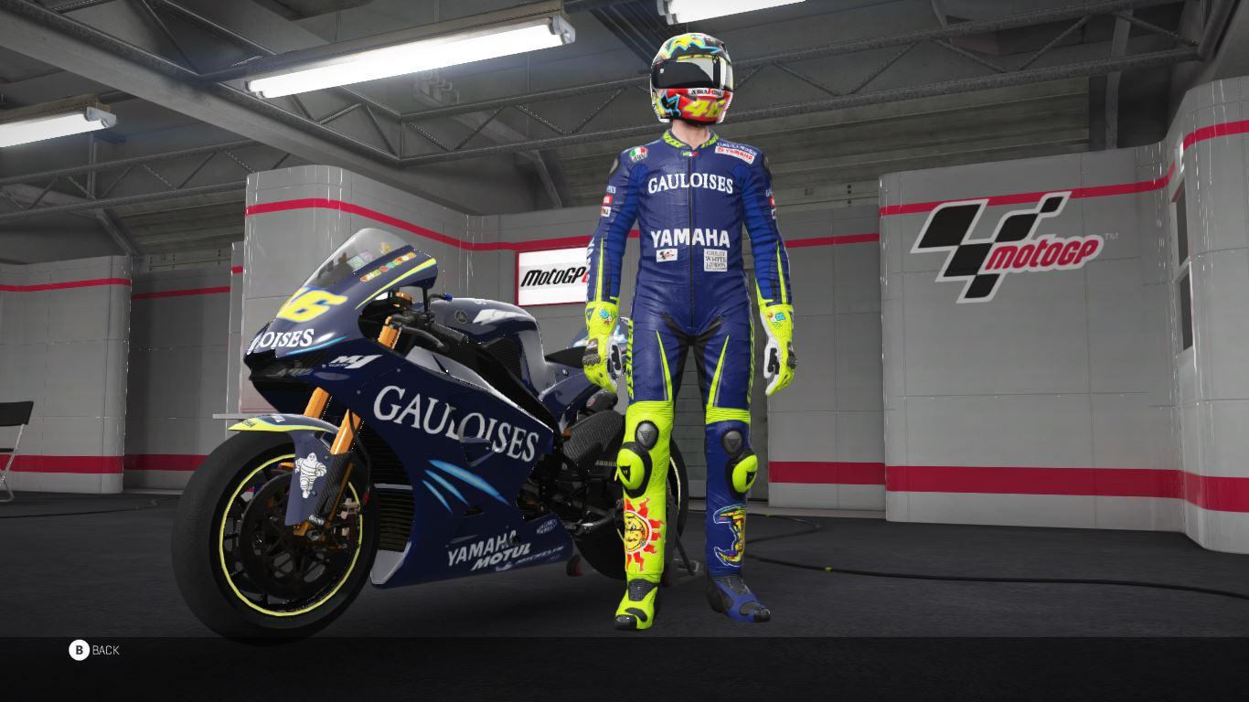 Valentino Rossi 2004 Gauloises Yamaha Team Racedepartment