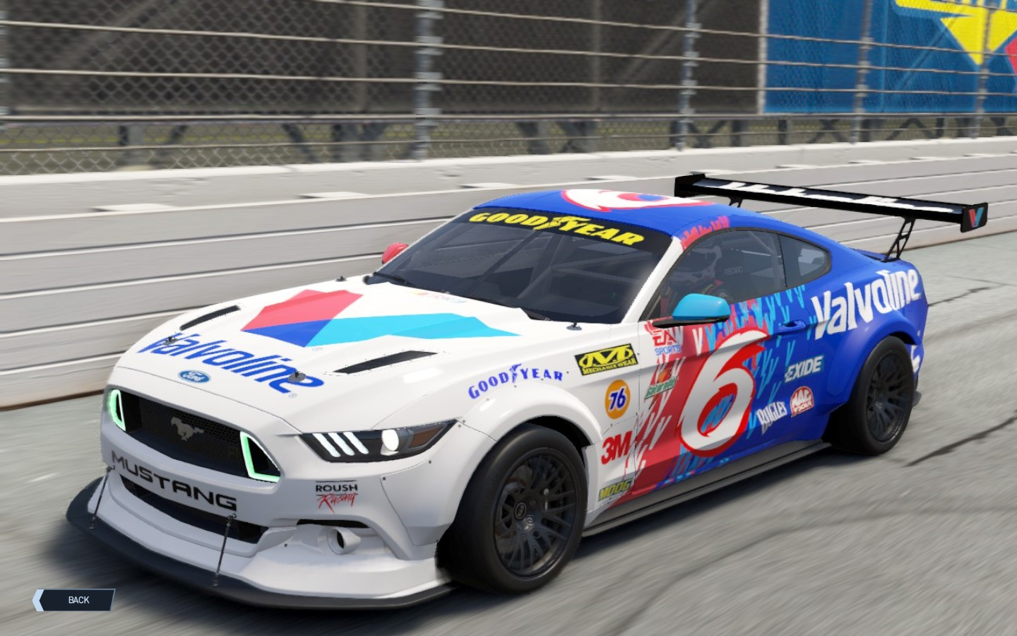ford mustang  gt flying  livery racedepartment