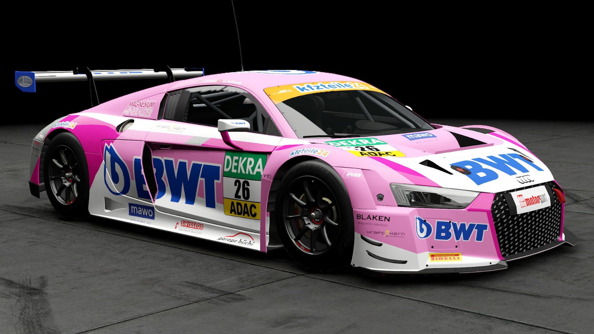 Paul Miller Porsche >> -Project CARS 2- 【カスタムカラー(スキン)の紹介-4】 - オヤジの備忘録