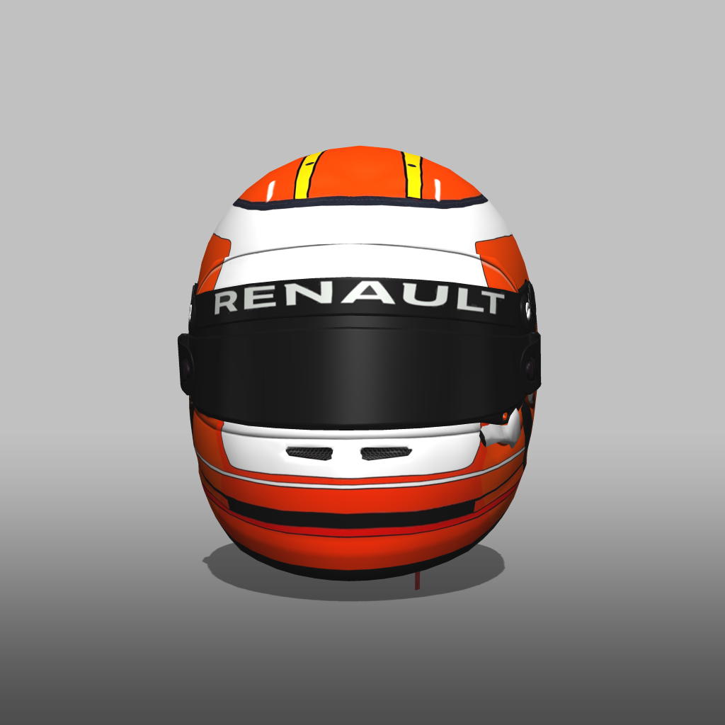 Helmet Career Renault: Helmet Career Renault