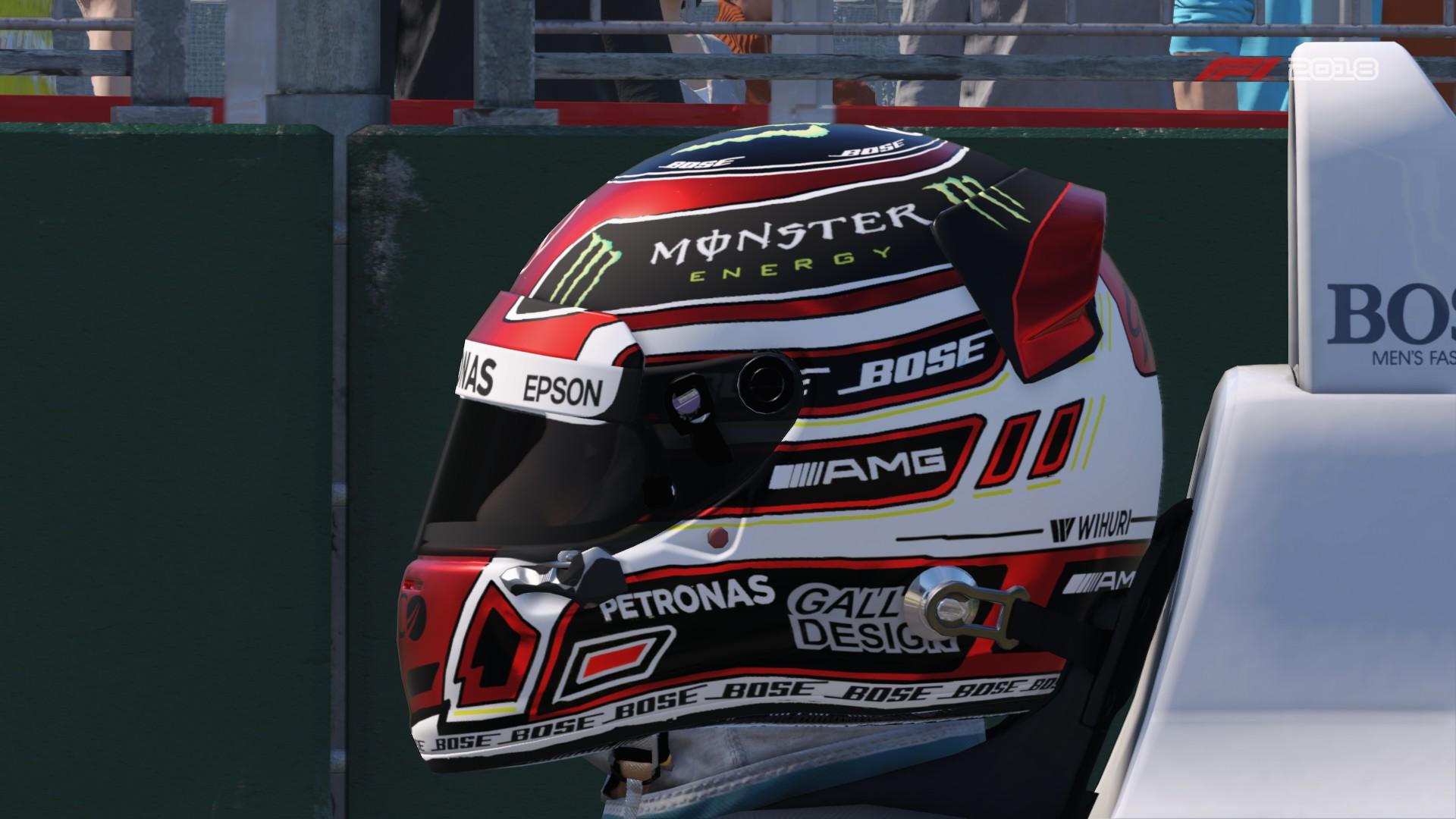 Mercedes Career Helmet 2019 | RaceDepartment - Latest ...
