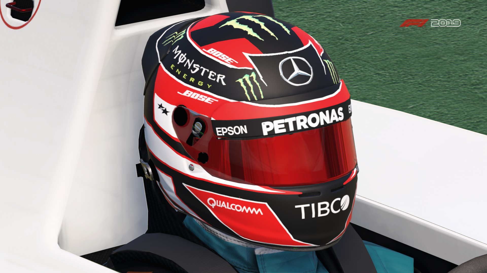 Mercedes Career Helmet | RaceDepartment