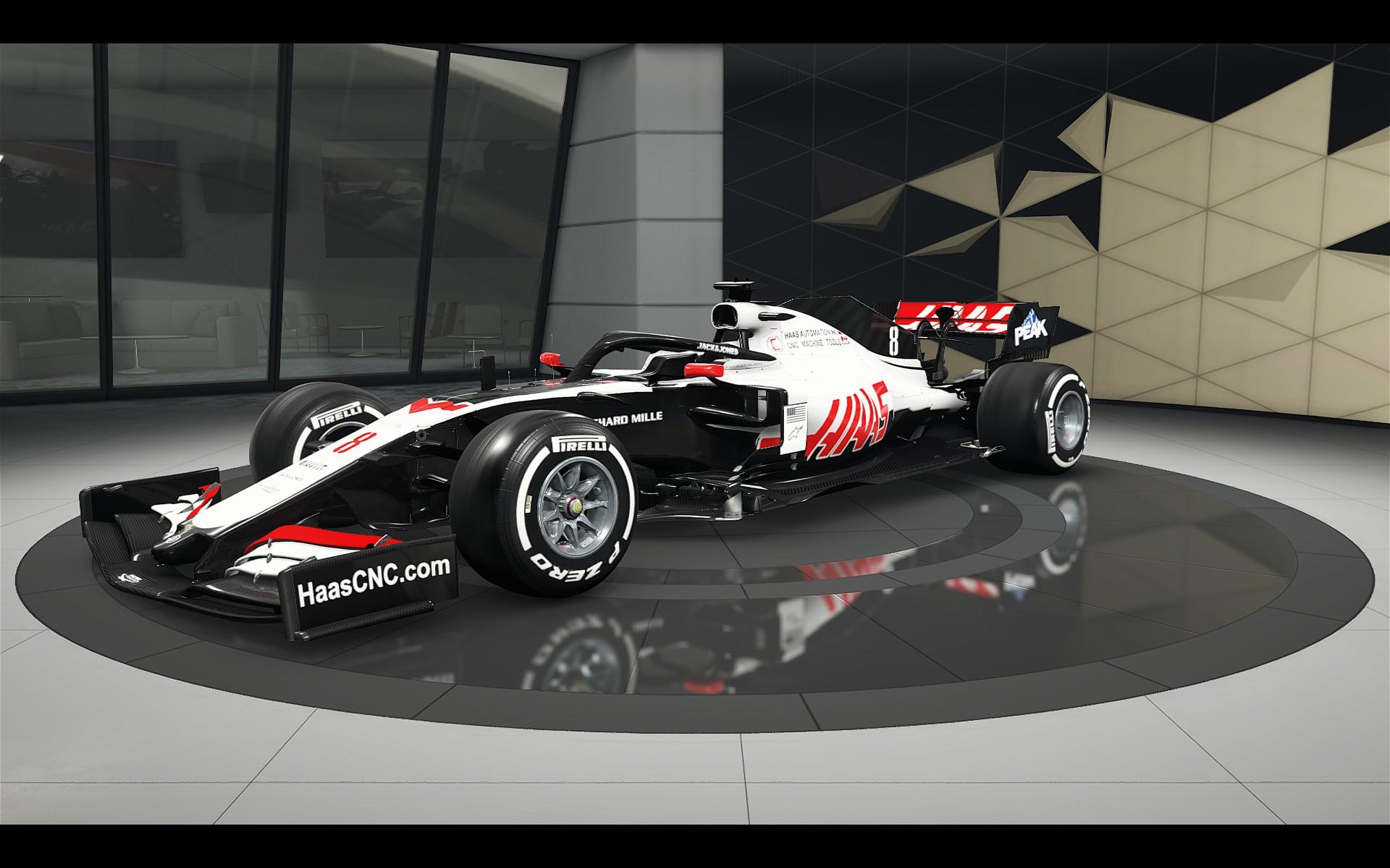 Haas 2020 Livery Racedepartment