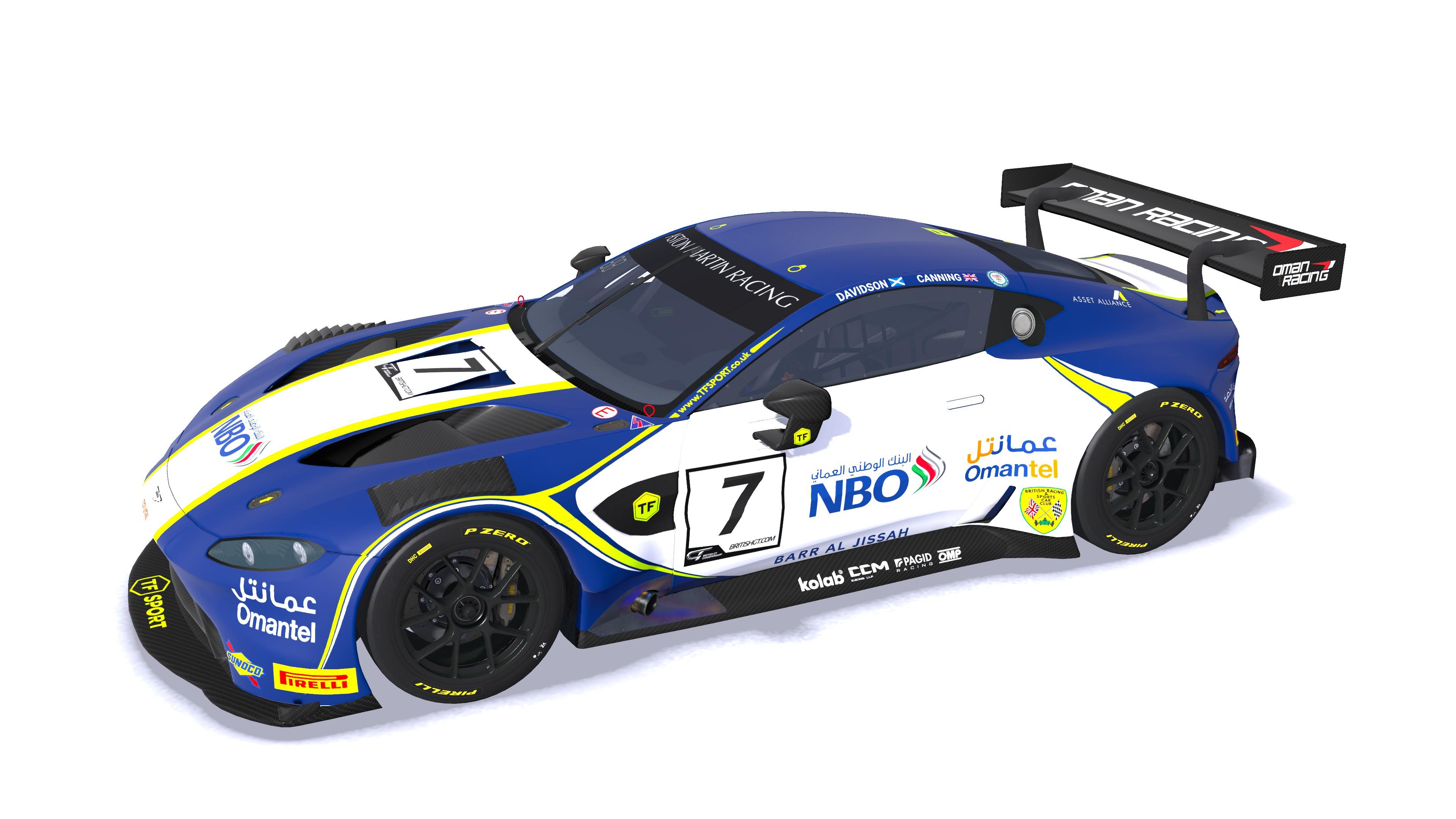 Wip 2020 Oman Racing Aston Martin Vantage Gt3 British Gt Racedepartment