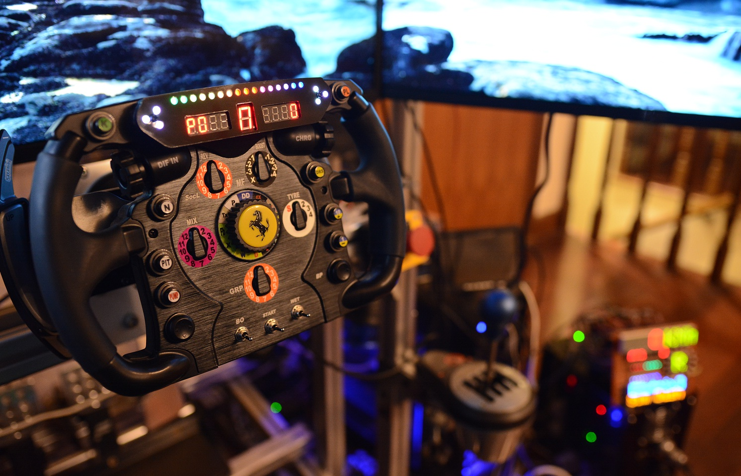 OSW/Accuforce using a F1 Thrustmaster wheel