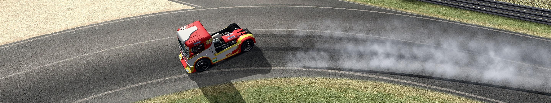 3 AMS F TRUCK Drifting Indianapolis corner at LeMANS.jpg