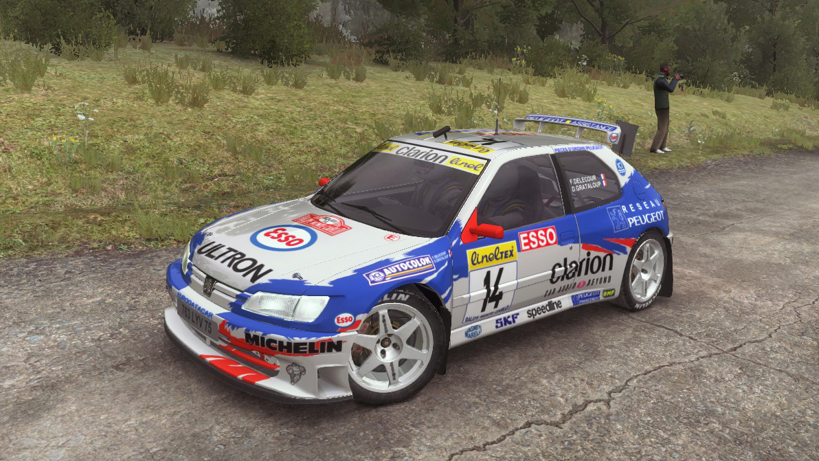 Mods - PEUGEOT SPORT 306 maxi 1997-1998 livery | RaceDepartment
