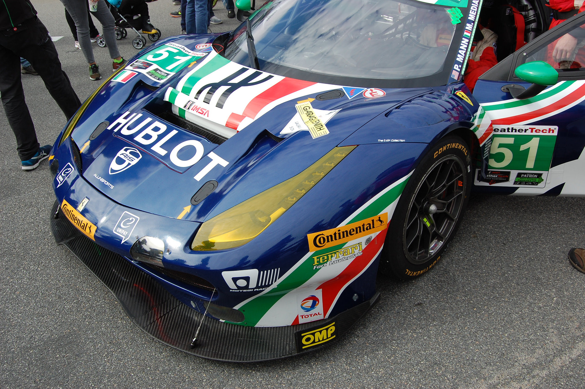weathertech sportscar championship ferrari 488 gtd spirit