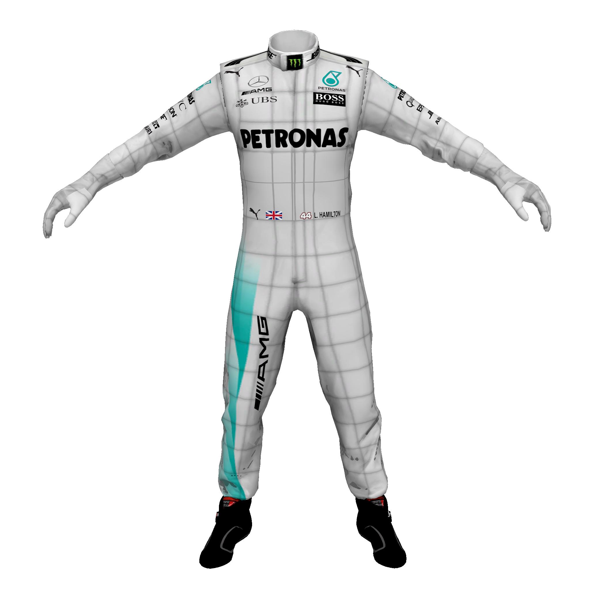 3D Driver Template (Mercedes) 2017 (Lewis Hamilton).png