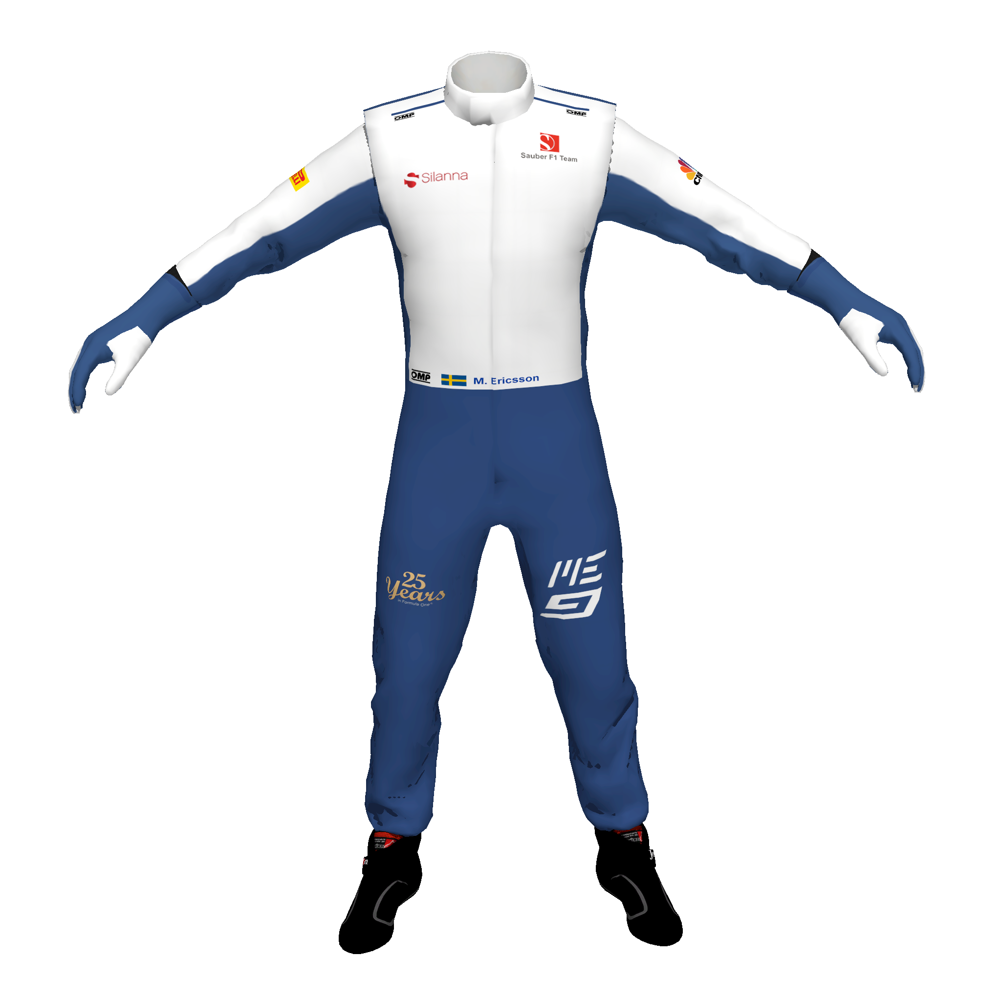 Racing Suit Template