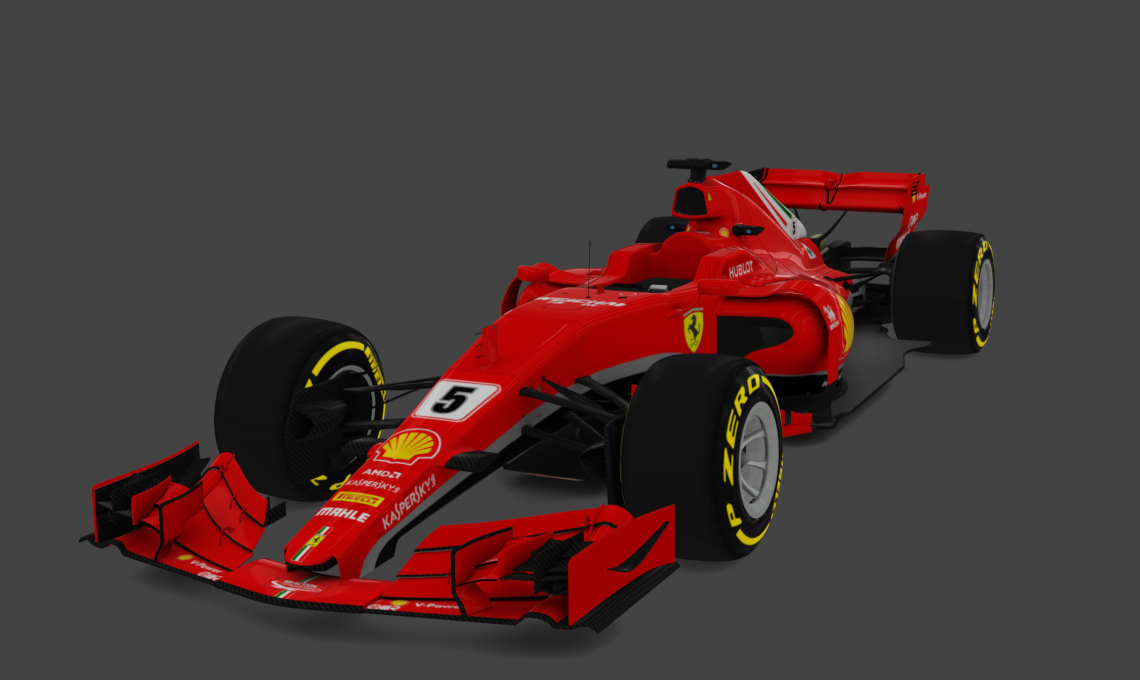 f1 2018 ferrari formula hybrid racedepartment. Black Bedroom Furniture Sets. Home Design Ideas
