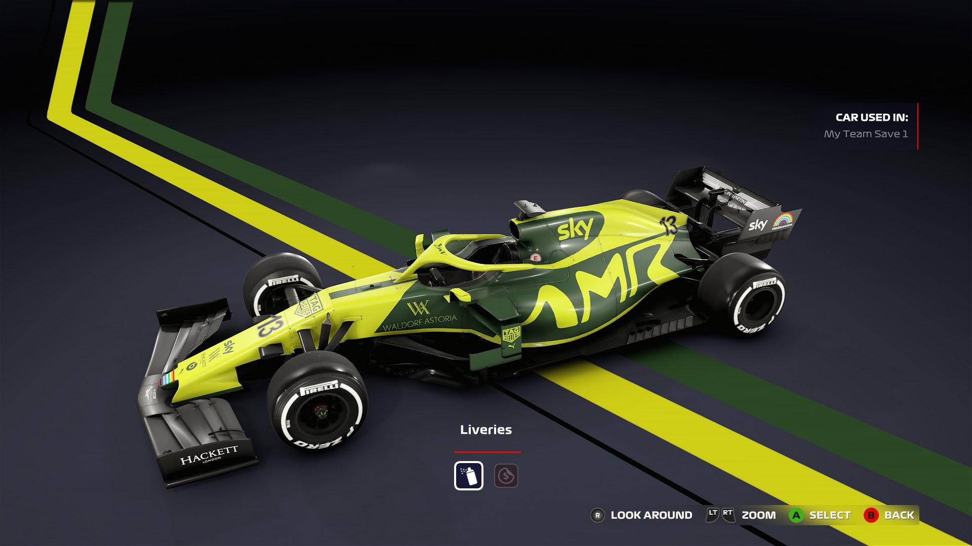 Aston Martin Racing Custom My Team Mod Racedepartment