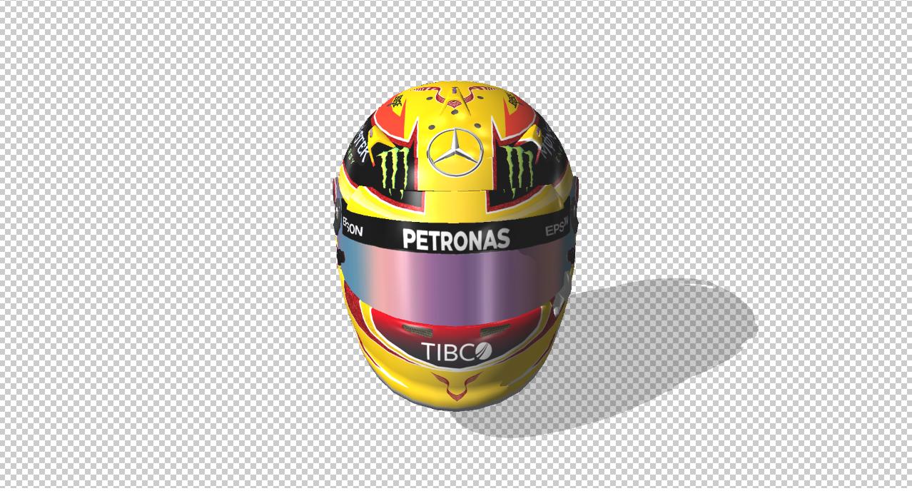 Lewis Hamilton British Grand Prix 2017 Helmet Racedepartment