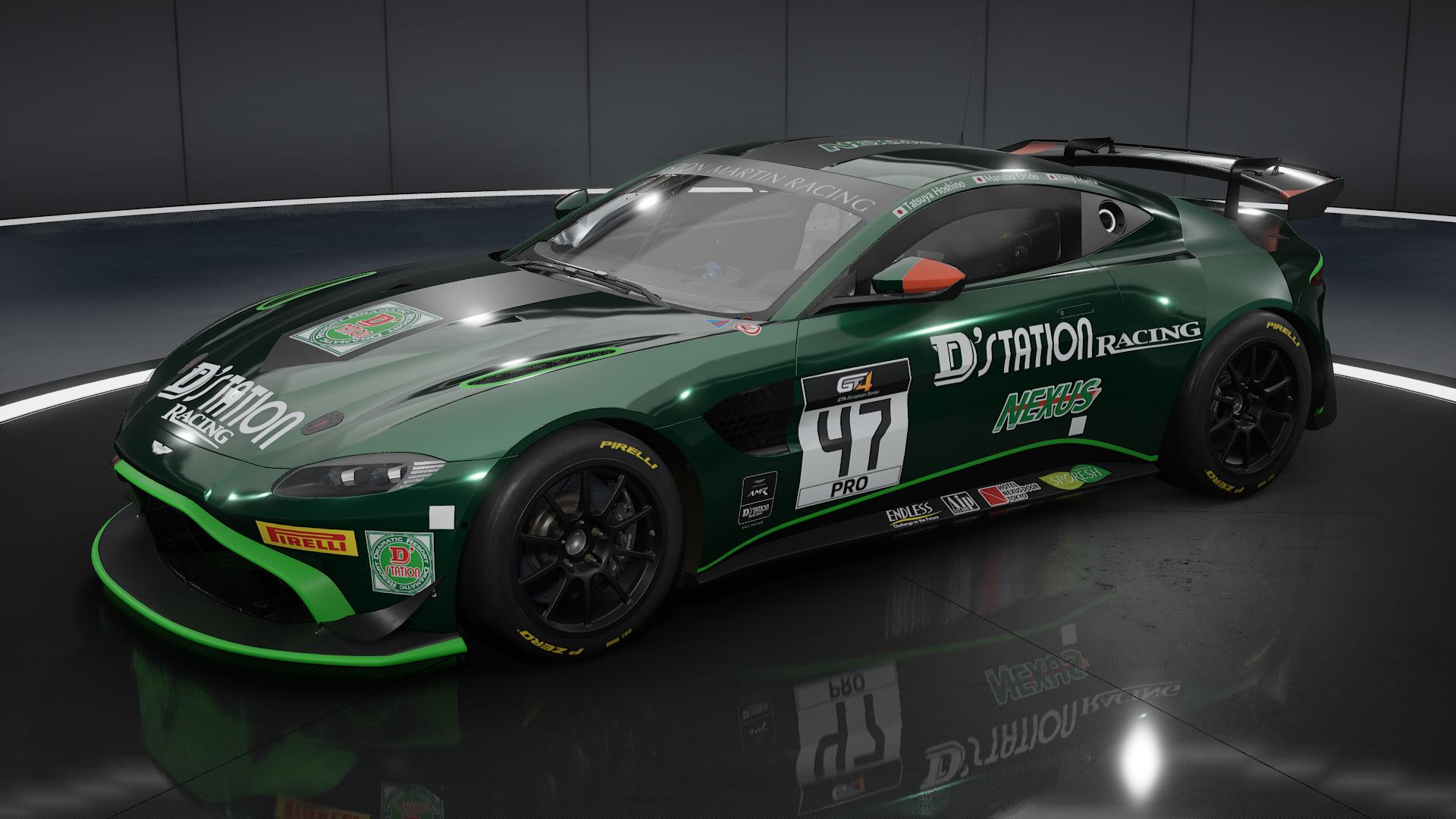 2020 D Station Racing Aston Martin Vantage Gt4 Racedepartment