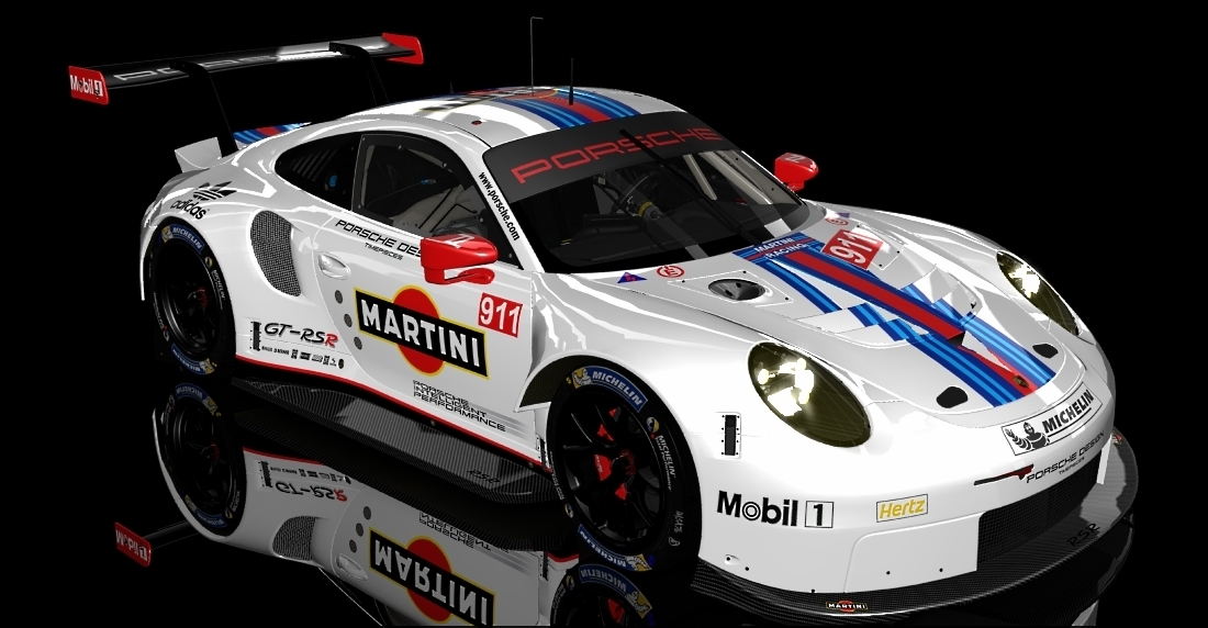 2017 martini porsche 911 rsr skins livery update new ext skin map racedepartment. Black Bedroom Furniture Sets. Home Design Ideas