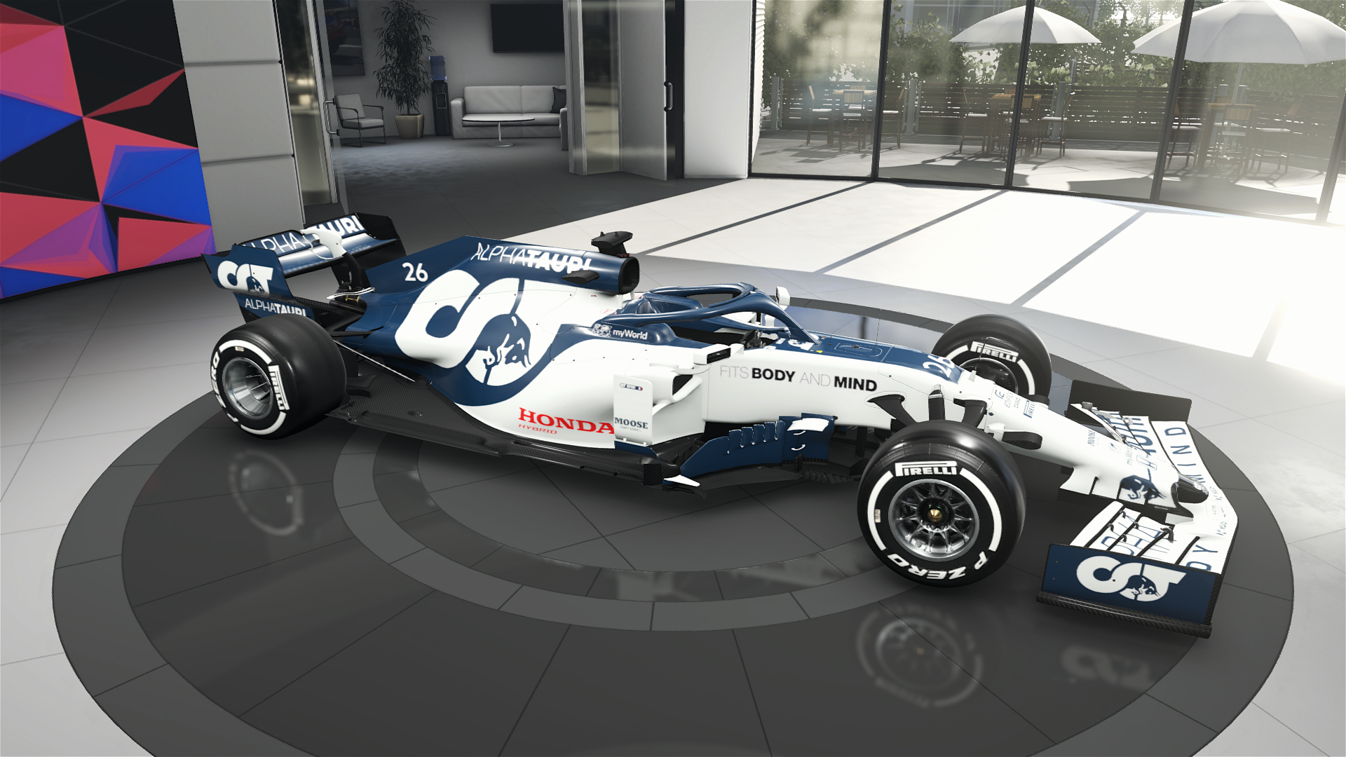 Alpha Tauri At01 Livery Mod Racedepartment