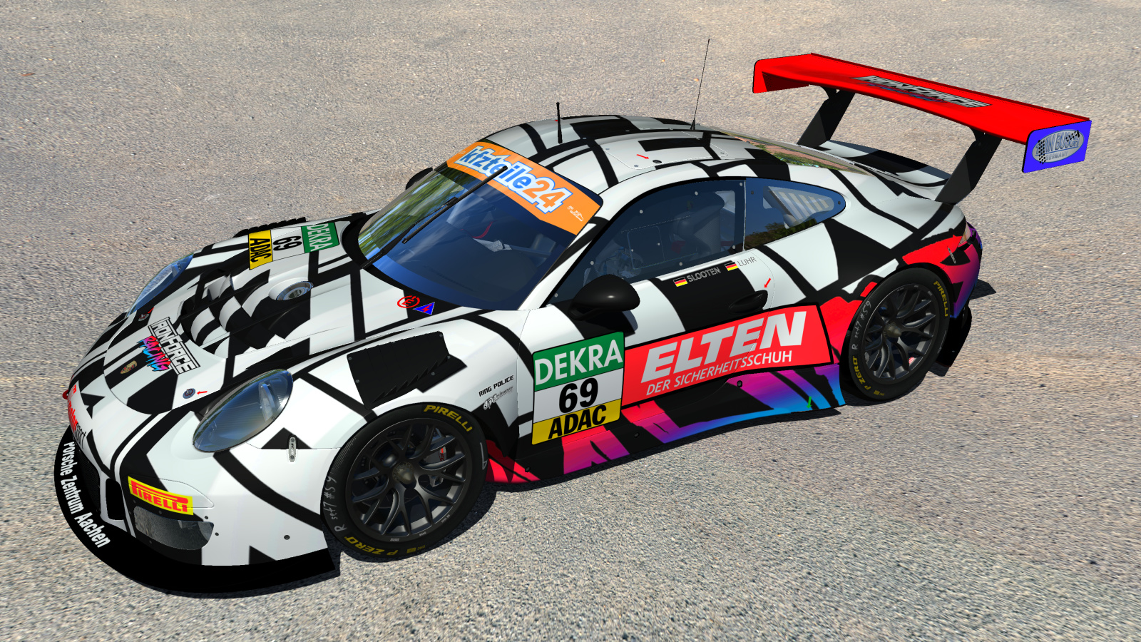 iron force racing adac gt masters 2018 updates. Black Bedroom Furniture Sets. Home Design Ideas