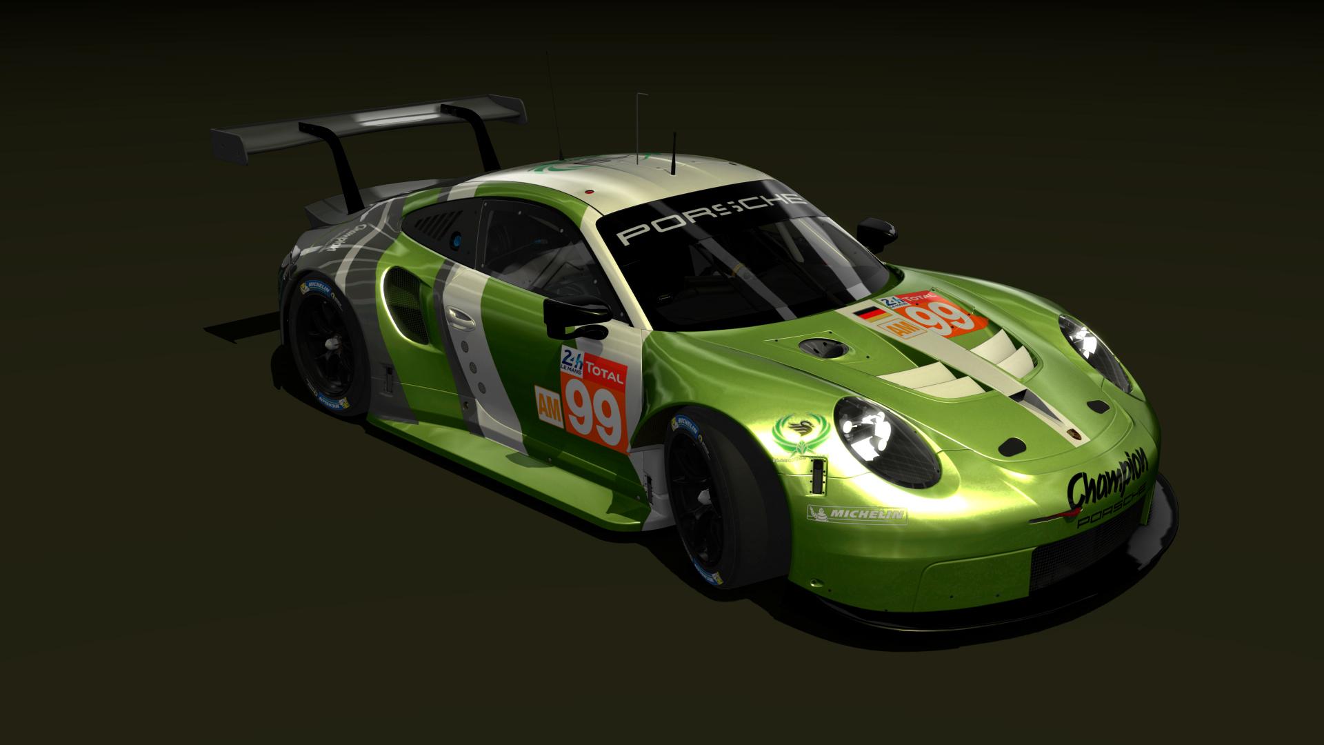 Spark 1//87 Porsche 911 991 RSR N.77 Dempsey-Proton Winner LMGTE Le Mans 2018 87S
