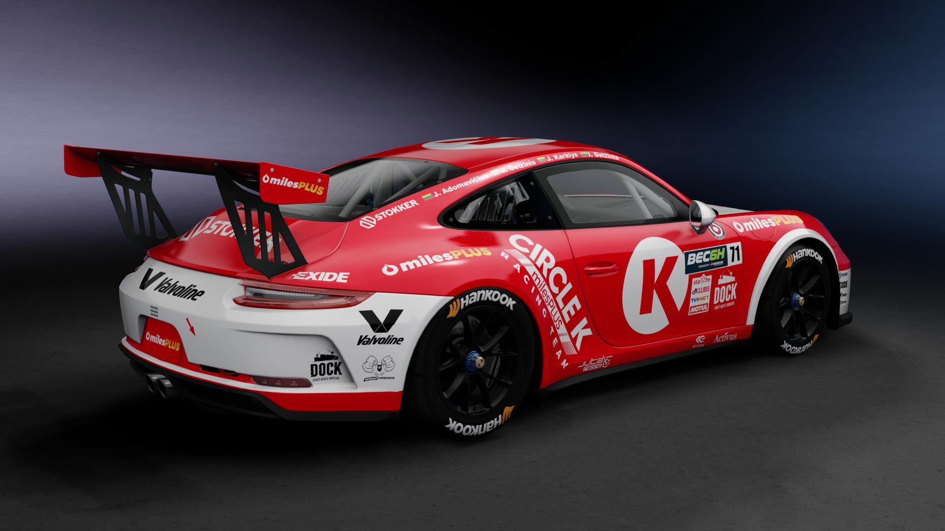 Porsche 911 Gt3 Cup Circle K Racedepartment