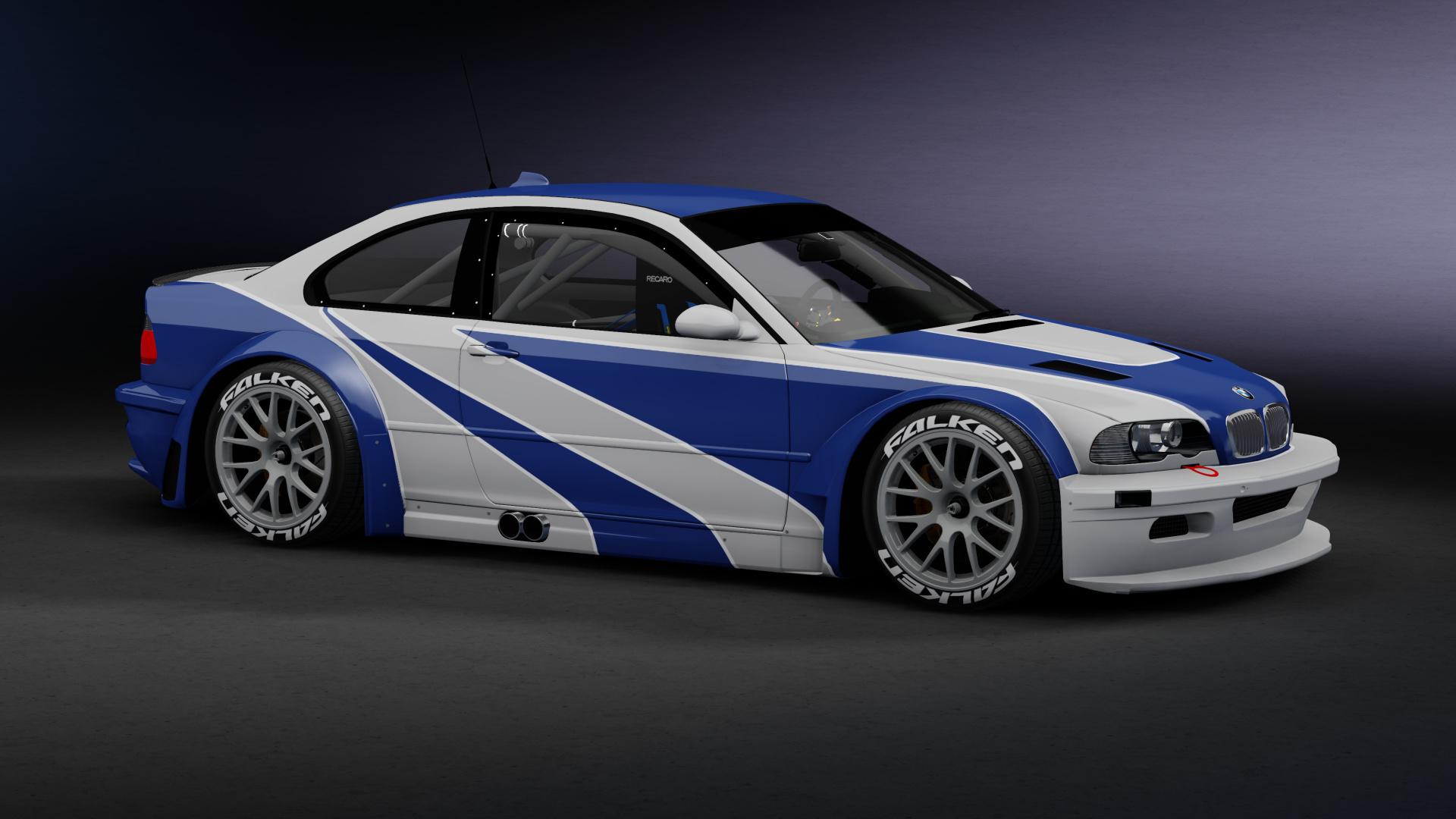 Bmw M3 Gtr Nfsmw 1 Racedepartment