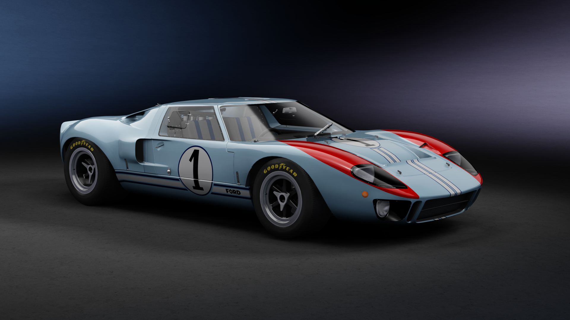 Skins Ford Gt40 Lemans 1966 Racedepartment