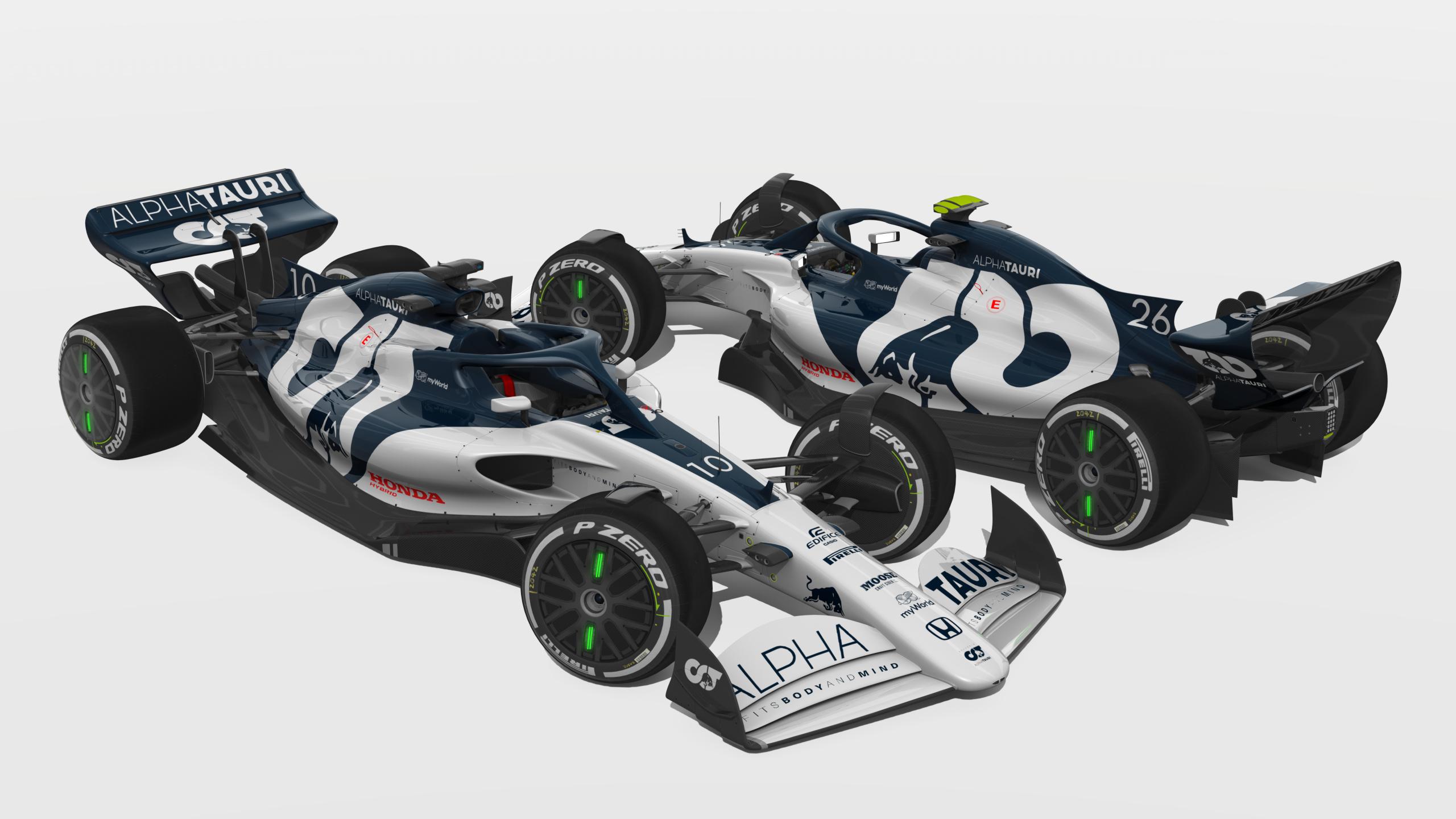 Scuderia Alpha Tauri At 01 Livery Rss Formula Hybrid X 2021 Racedepartment