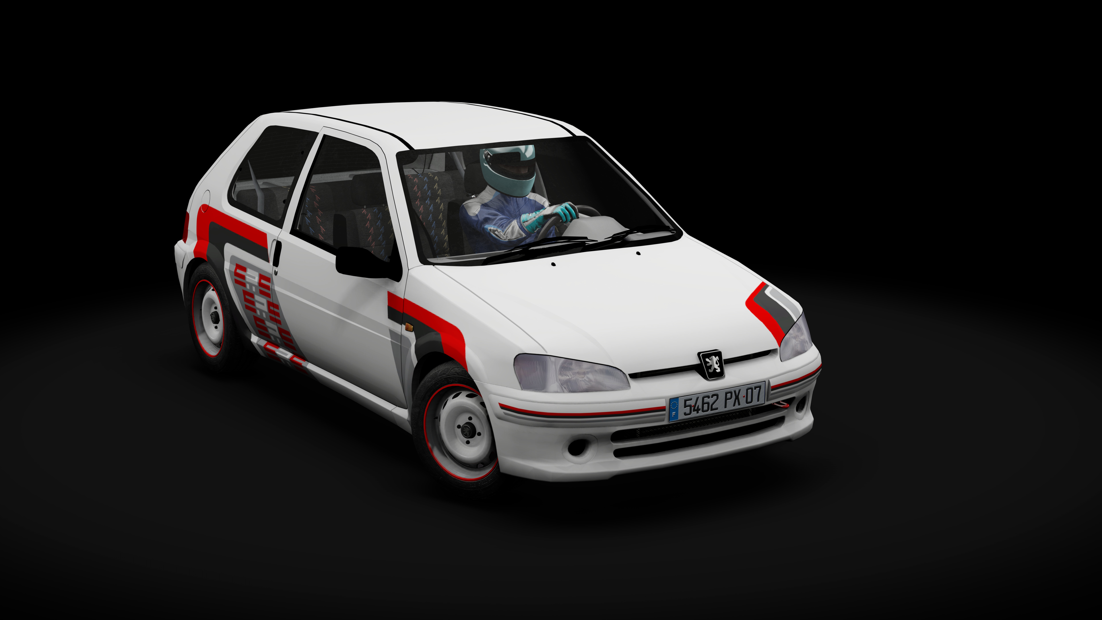 Peugeot 106 Rallye S2 Srs White Livery Racedepartment
