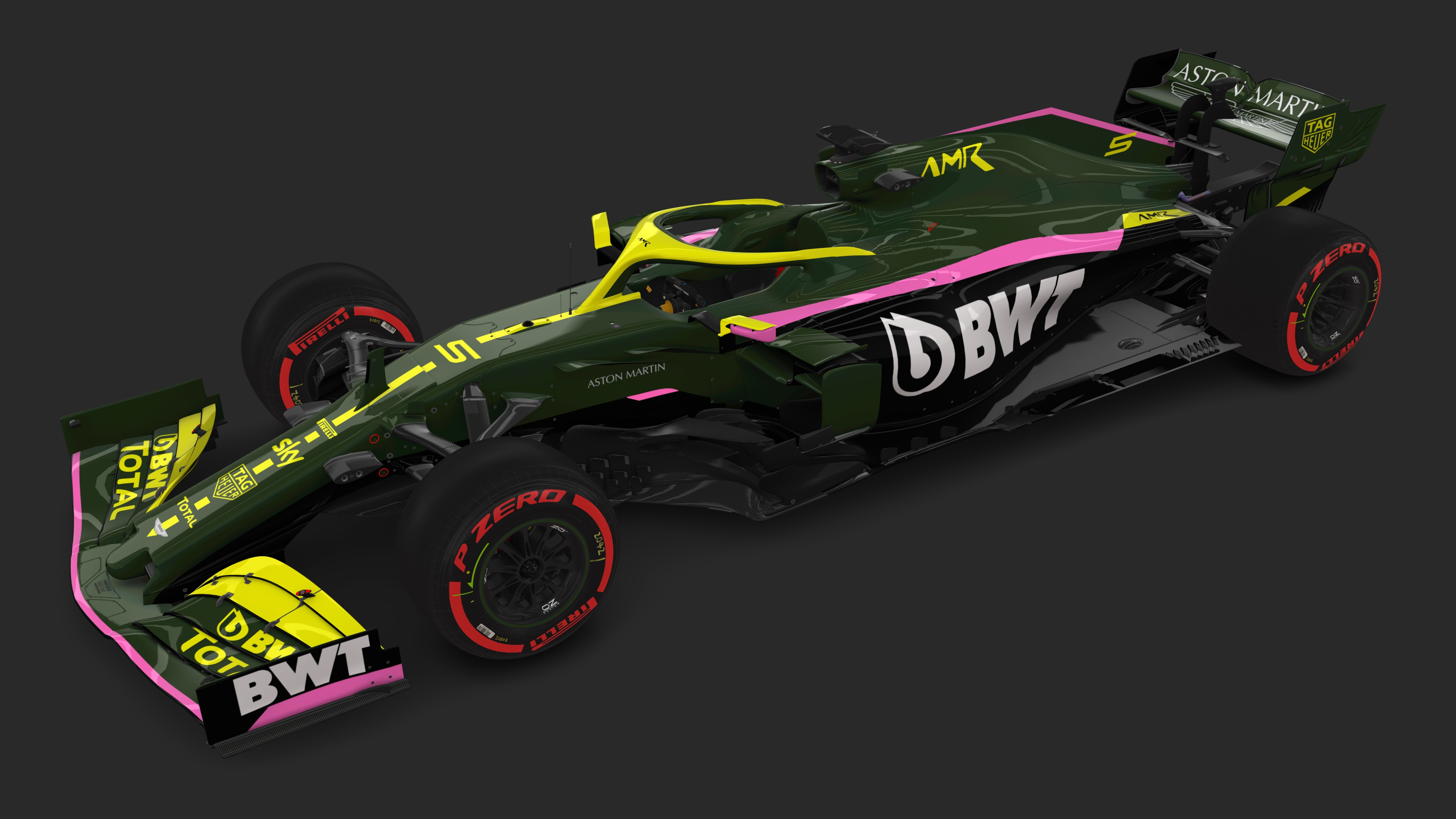 Rss Formula Hybrid 2020 Aston Martin Racing F1 Team Livery Design Concepts For 2021 Racedepartment