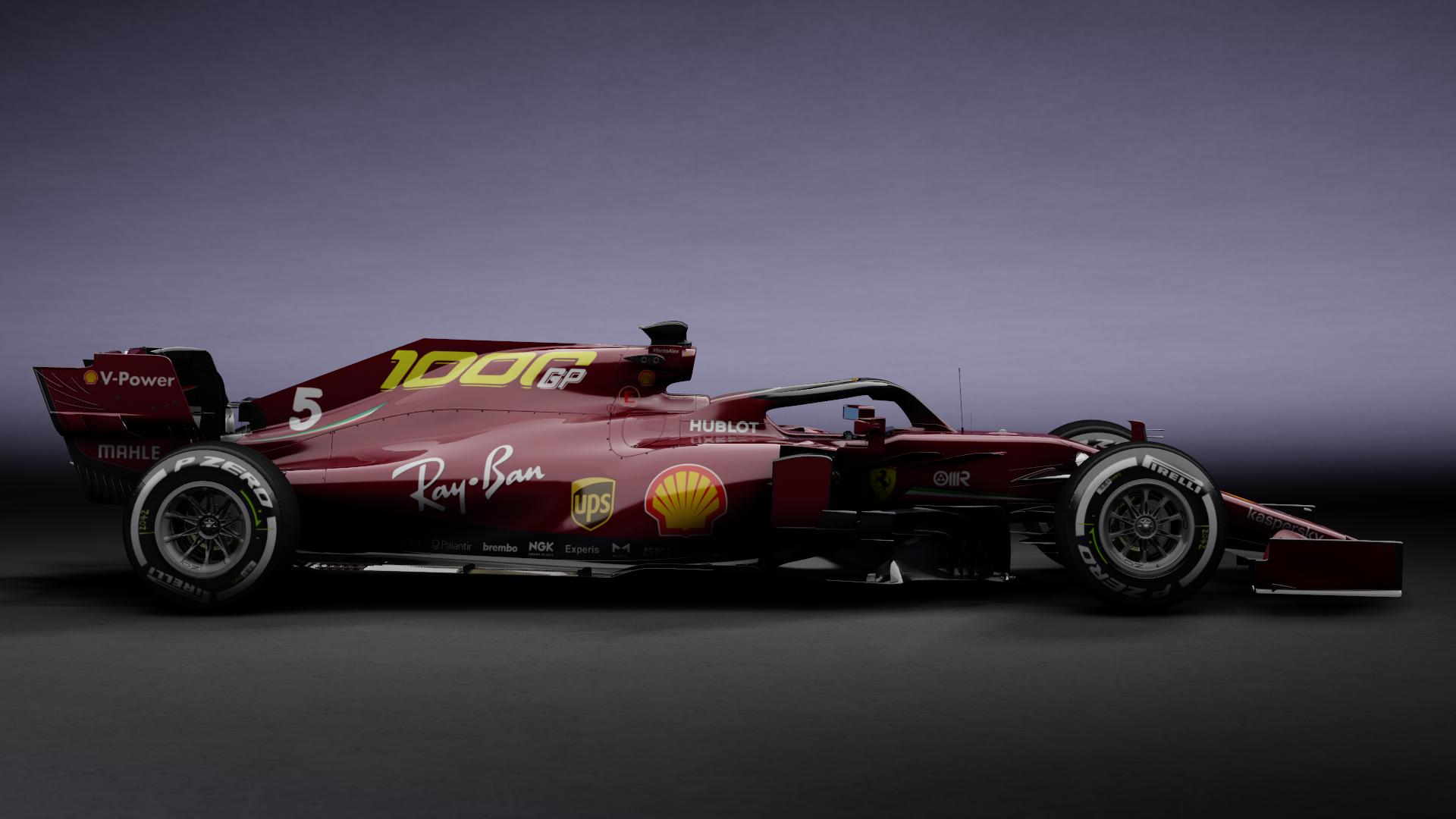 Formula Hybrid 2020 Sf1000 Mugello Skin Racedepartment