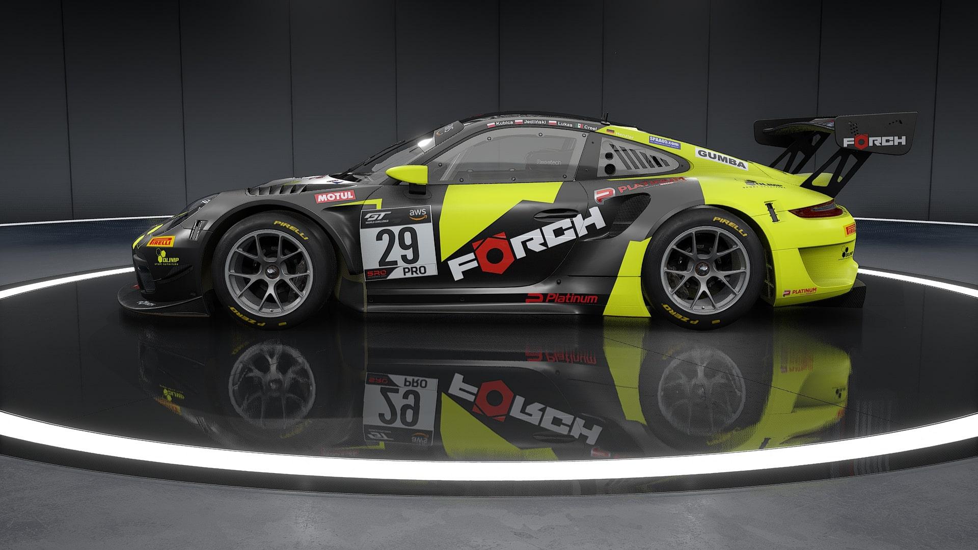 Porsche 911ii Gt3 R Forch Racing Dubai 24h 2017 29 Racedepartment