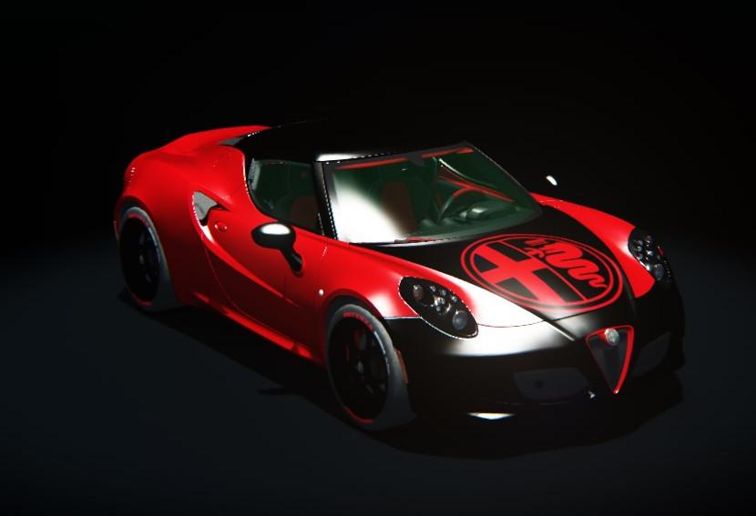 Alfa Romeo 4C >> Alfa Romeo 4C custom by Gabriele | RaceDepartment