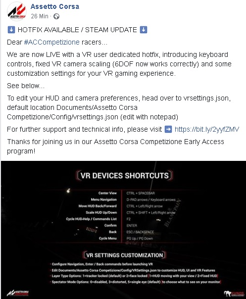 Share your VR graphic settings | Page 2 | RaceDepartment - Latest