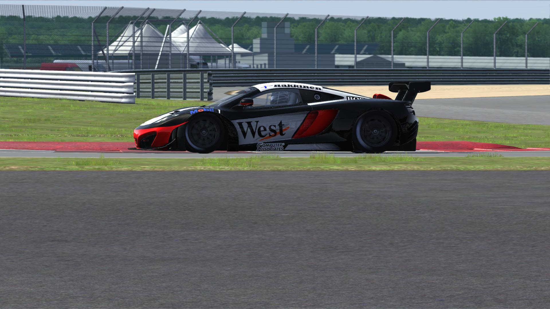Skins - 1998 West Mclaren Mercedes - MP4-12C GT3 Skin | RaceDepartment
