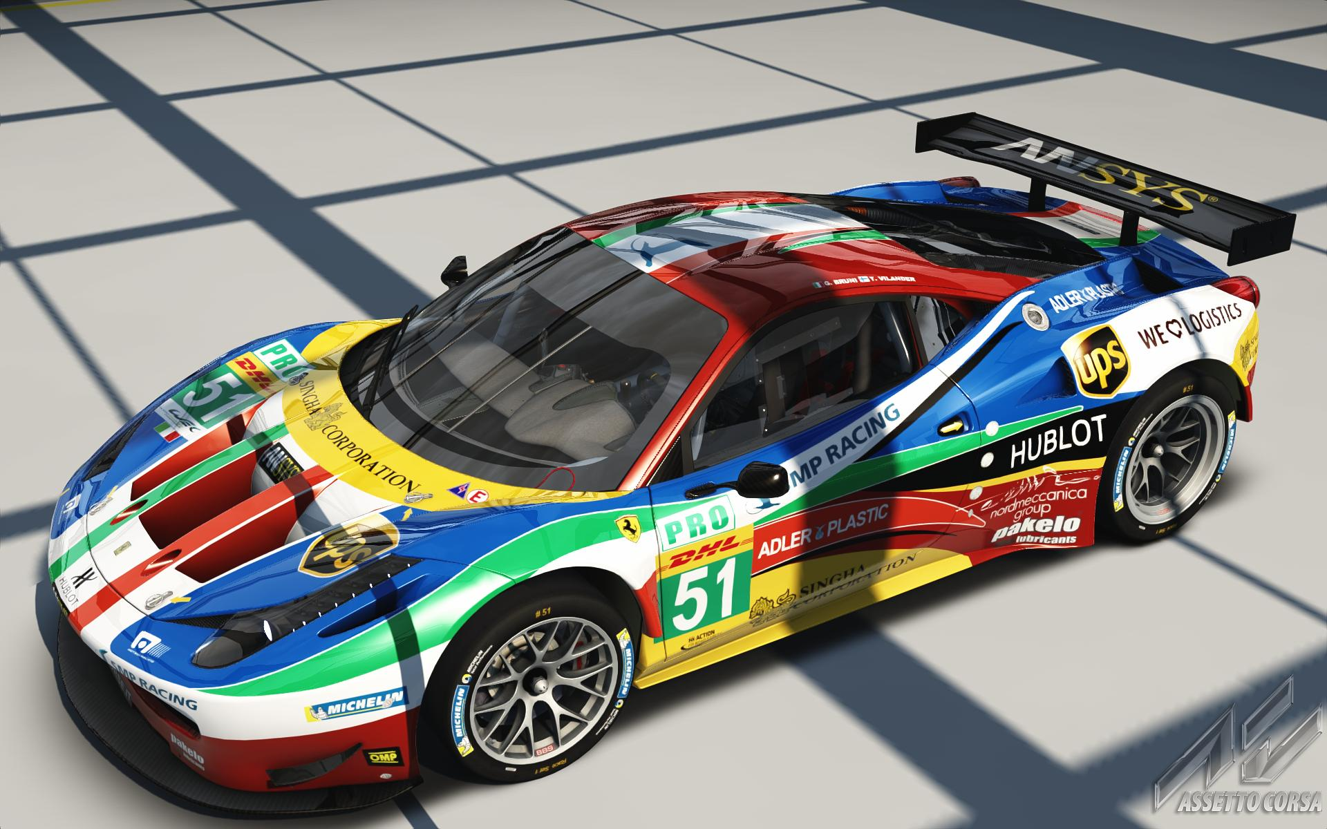 Af Corse Smp Racing Ferrari 458 Gt2 51 Racedepartment
