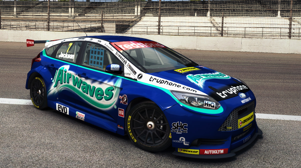 Airwaves Racing Btcc 2013 Livery Mod For Ford Focus St Touring Car