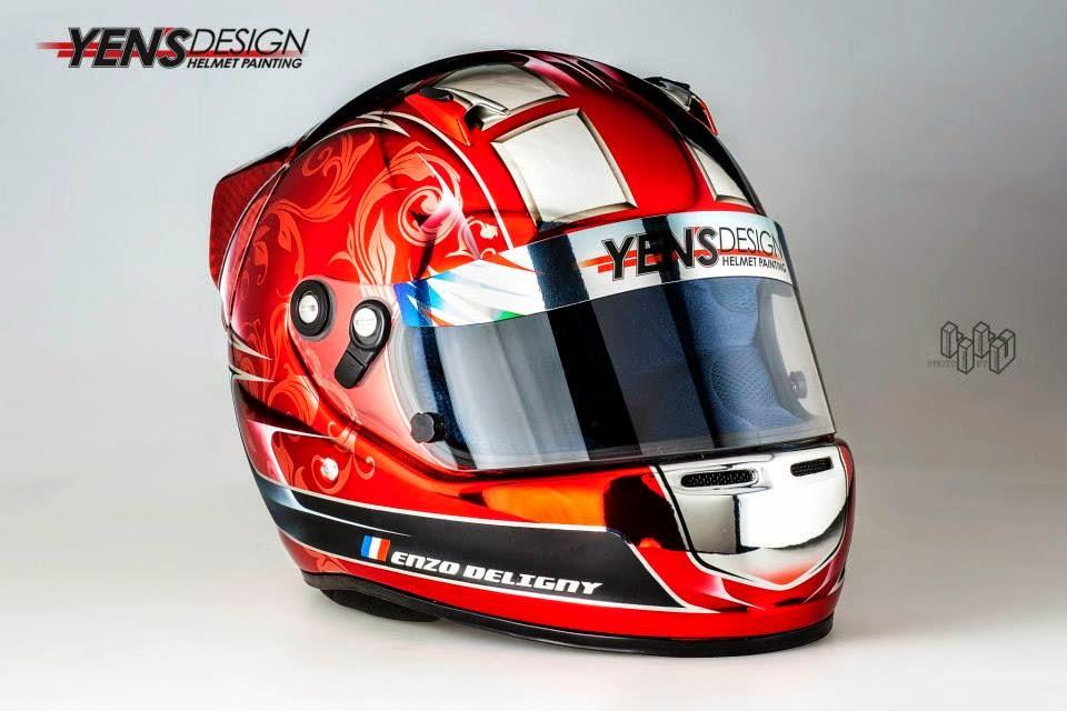 Arai CK-6S E.Deligny 2014 by Yen's Design Helmet Painting 05.jpg