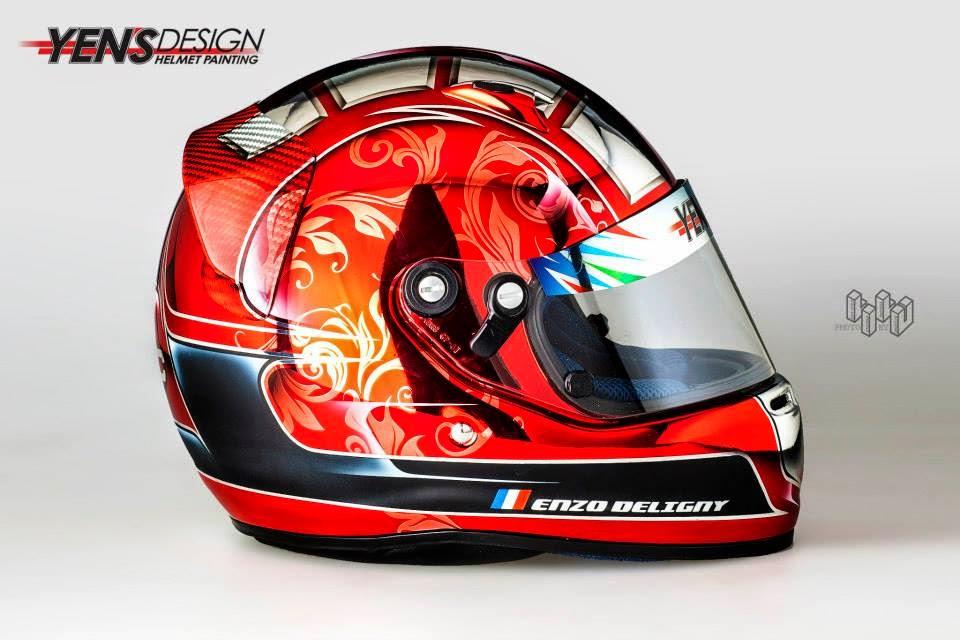Arai CK-6S E.Deligny 2014 by Yen's Design Helmet Painting 06.jpg