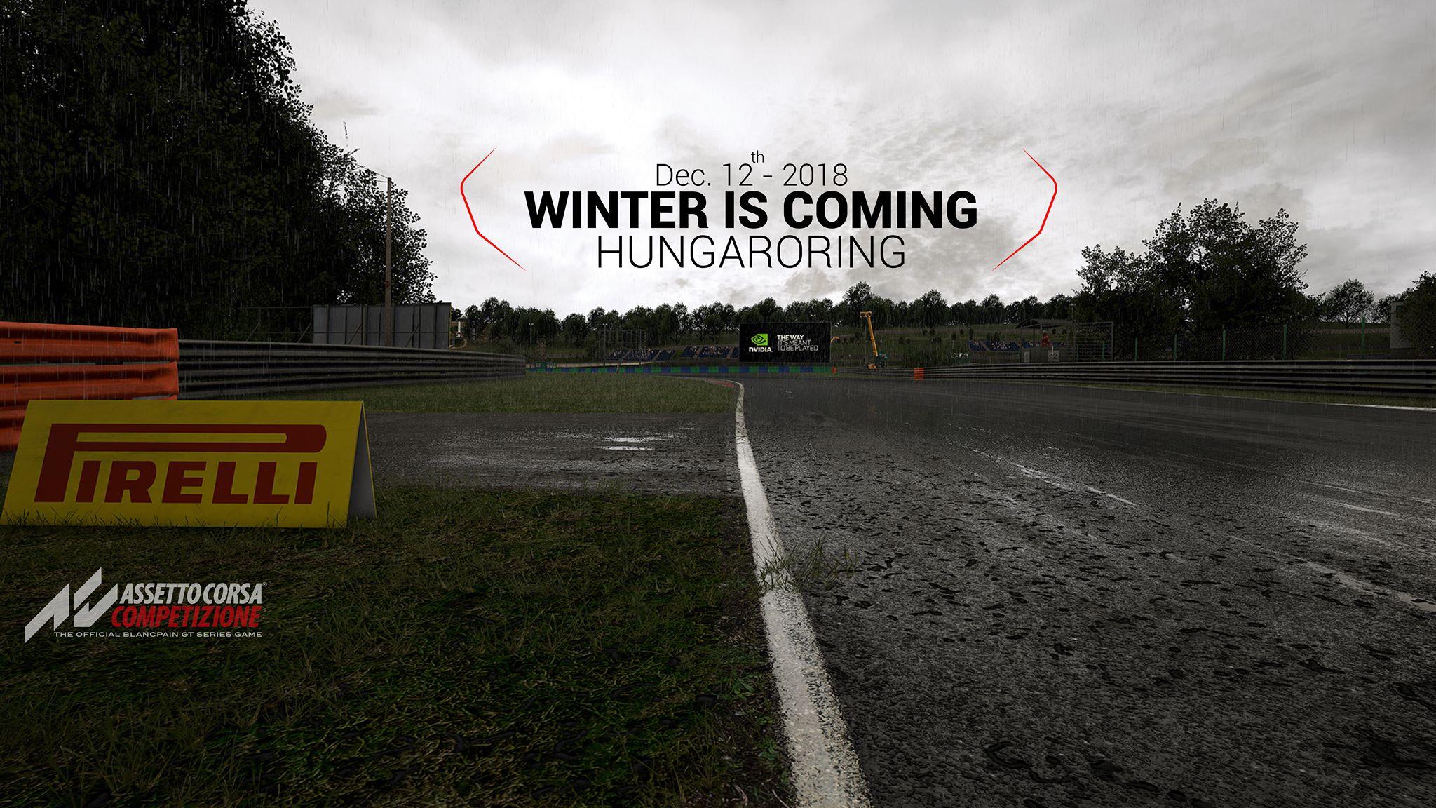 Assetto Corsa Competizione December 12th Hungaroring