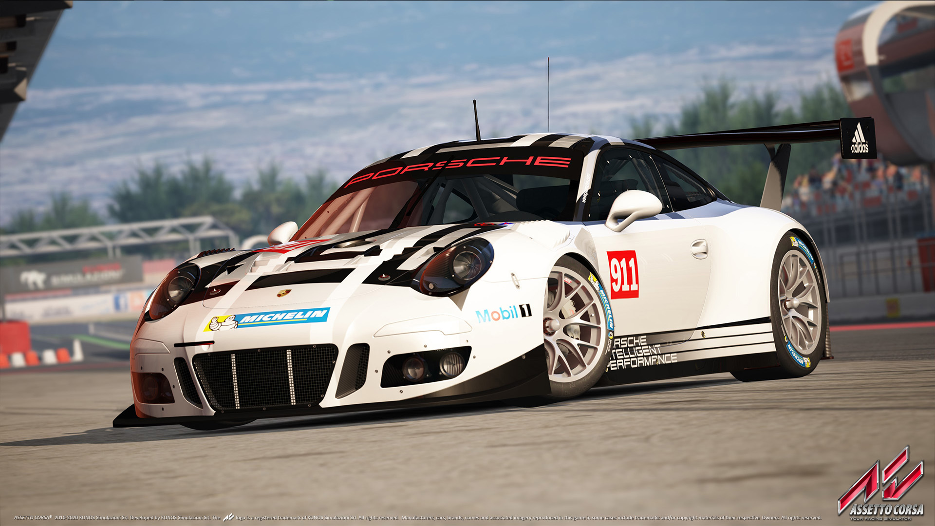 assetto corsa updated for playstation 4 porsche iii dlc released. Black Bedroom Furniture Sets. Home Design Ideas