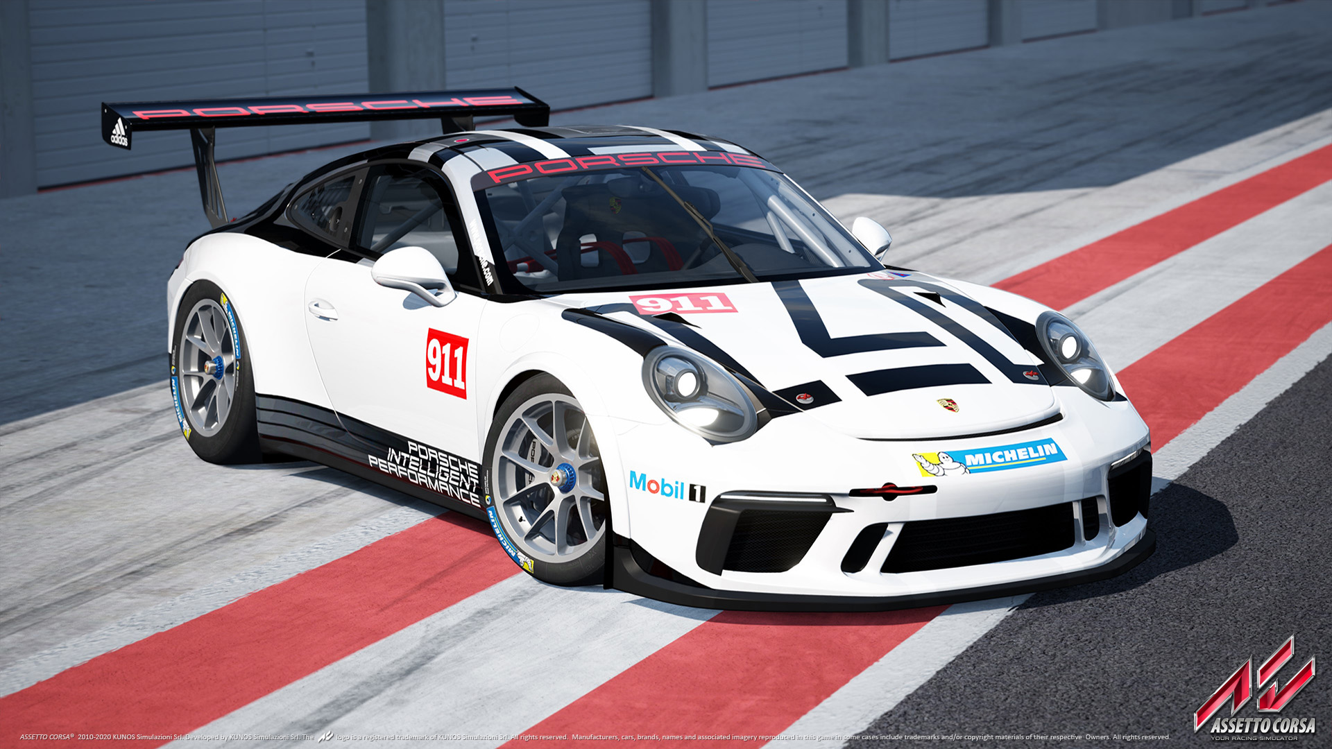 assetto corsa updated for playstation 4 porsche iii dlc released racedepartment. Black Bedroom Furniture Sets. Home Design Ideas