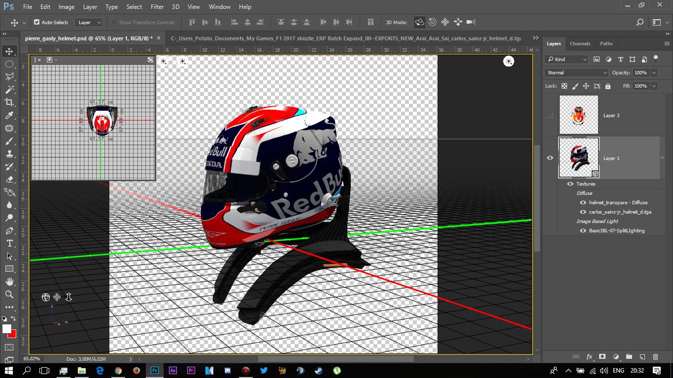 Pierre Gasly 2018 helmet | RaceDepartment - Latest Formula 1